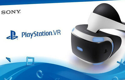 NEW Sony PlayStation VR Virtual Reality Headset for PS4 CUH-ZVR1 Brand New