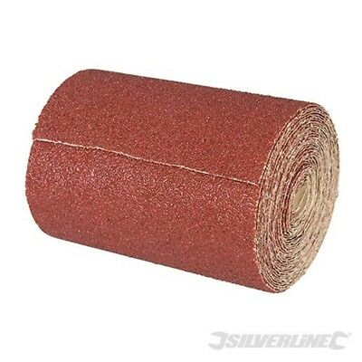 Silverline Tools - Aluminium Oxide Roll 10m - 10m 120 Grit - 297234 Sanding