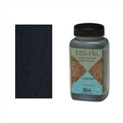 4oz Coal Black Eco Leather Dye - Flo Colour Leathercraft Tandy 260001