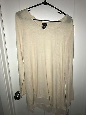 Oh Baby by motherhood Maternity xl ivory Sweater