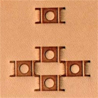 X595 Basketweave Leather Stamp - Craftool Tandy 659500 Decorate Stamping