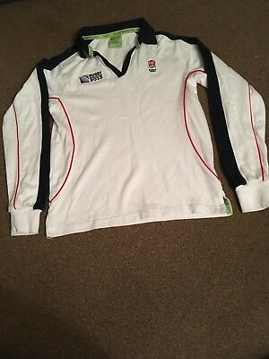 England Rugby Union World Cup 2015 Kids Long Sleeved Shirt