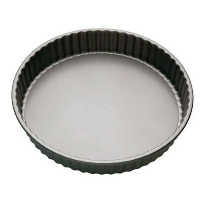 18cm Non-stick Fluted Loose Base Round Quiche Tin - 7 Nonstick Master Class