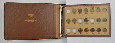 92 Coins - 1857-1931 Flying Eagle, Indian, Wheat Cents Album Partial Set *5439