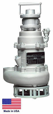 "SLUDGE & TRASH PUMP Commercial - 3"" - Air Operated - Submersible - 18,000 GPH"