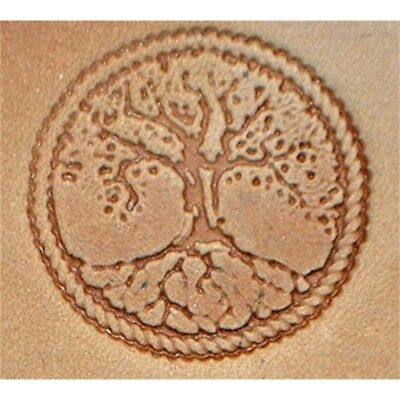 Tree Of Life Craftool 3-d Stamp Item #8686-00 By Tandy Leather - 3d 868600