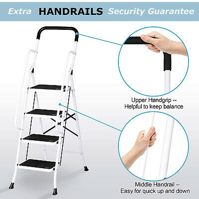 Portable Family Use Ladder 3 Steps Folding Stool Ladders