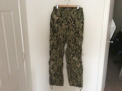 US Navy Nwu Type iii AOR2 Green Digital Trousers New Without Tags Medium Long