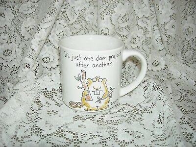 Vintage SANDRA BOYNTON It's Just One Dam Project After Another, Beaver MUG