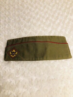 Boy Scouts Of America Vintage Garrison Cap Medium Official Sanforized