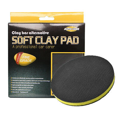 "6 "" 150mm Clay Bar Polish Buffing Sponge Pads Car Detailing Clean Wax Round Pad"