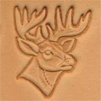 Deer Head 3d Leather Stamping Tool - Craf Stamp 8834100