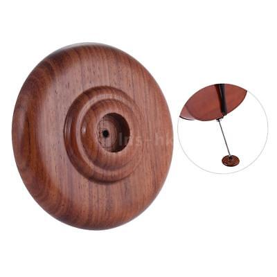 Titolare Cello Endpin Rest Stop Anchor Protector antiscivolo Pad Rosewood C9M5