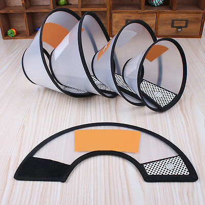 Dog Elizabethan Wound Healing Medical Cone Beautify Shower Protective Collar *