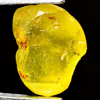 TOP IF FLAWLESS 2.00ct NATURAL100% UNHEATED CHRYSOBERYL ROUGH FACET NR!