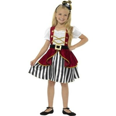 CK498 Pirate Classic Angelica Caribbean Girls Book Week Fancy Dress Up Costume