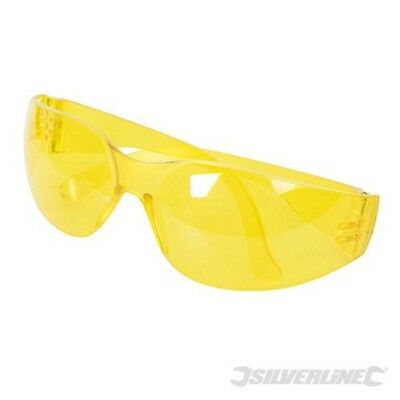 Silverline Safety Glasses Uv Protection Yellow - 309636