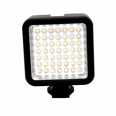 49 LED Video Light Lamp Barndoor for Canon Nikon Camera DV Camcorder HS1