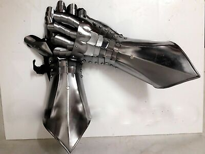 Medieval Knight Gauntlets Functional Armor Gloves Medieval Sca Larp Halloween