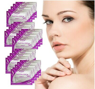 Post Wax Wipes 25 After Wax Treatment All Natural Formula Easy Use Free Delivery