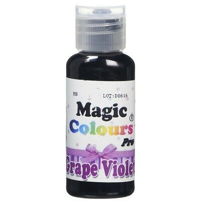 Magic Colours Grape Violet Pro - Concentrated Food Colouring 32g