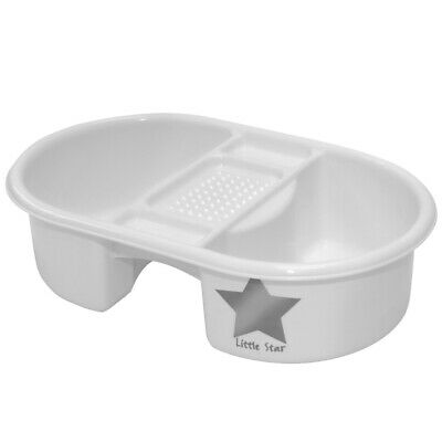Strata Top And Tail Bowl Silver Lining - Baby Star Bathing