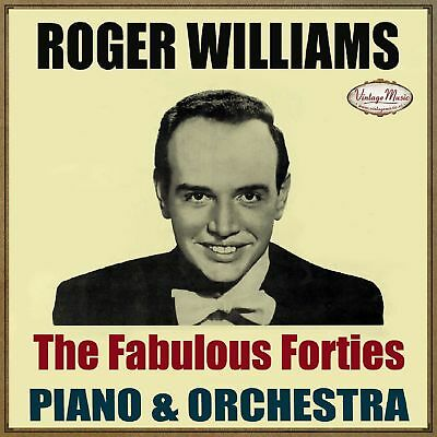 ROGER WILLIAMS CD Vintage Dance Orchestra / Piano , Forties Hits , Ambient Relax