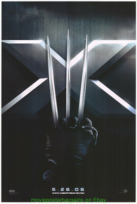 X MEN III THE LAST STAND MOVIE POSTER Original 27x40 Single Sided Advance Style