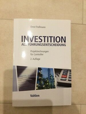 Buch Investition Controlling