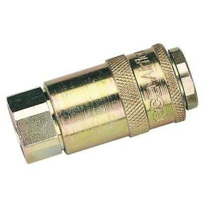 "3/8"" Parallel Female Coupling - 38 Thread Pcl Airflow Draper 37829 Sold Loose"