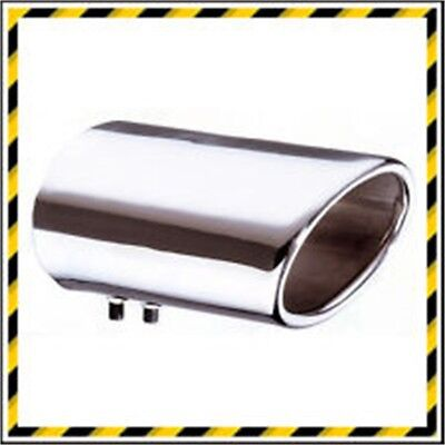 E-tech Stainless Steel Dynamic Exhaust V6 - Exhaust Dynamic Oval Trim Tail