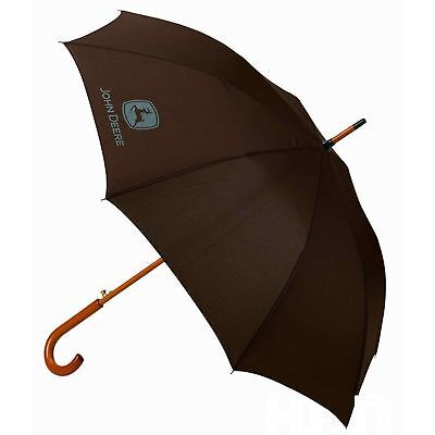 John Deere Brown Umbrella