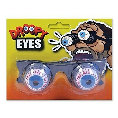 Halloween Pop-Out Spring Glasses Droopy Eyes Gag Glasses Fancy Dress Costume