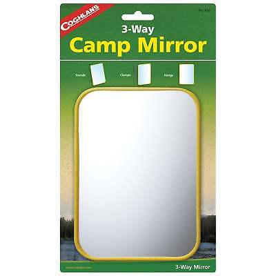 Coghlans Camping Mirror With Stand