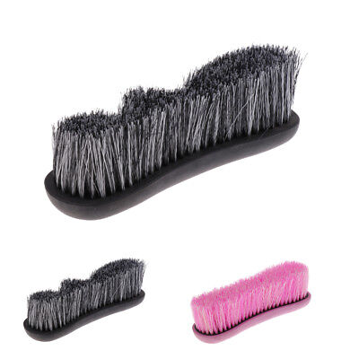 Horse Body Brush Dirt Dust Removing Cleaning Comb Equestrian Grooming Tools