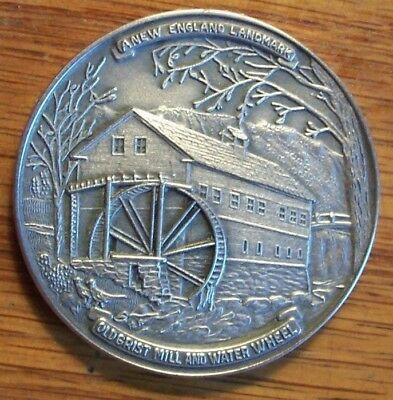 TOWN MEDAL #354 GRANBY MA MASSACHUSETTS 1968 STERLING 200th ANNIVERSARY
