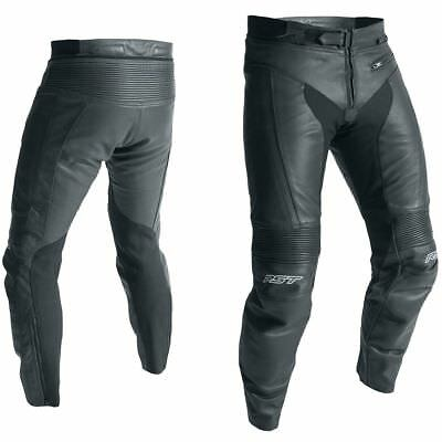 RST R-18 CE Black Moto Motorcycle Motorbike Sports Leather Trouser | All Sizes
