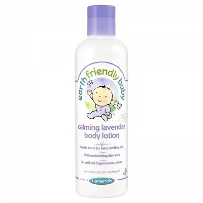 250ml Earth Friendly Baby Calming Lavender Body Lotion - Packs Ecocert 6 3
