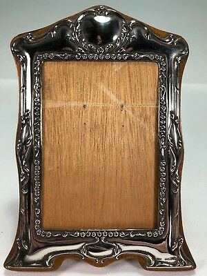 Birmingham English Sterling Silver Picture Photo Frame 5.25 x 3.5 Broadway & Co