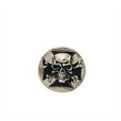 Skull Shield Concho Screw Back