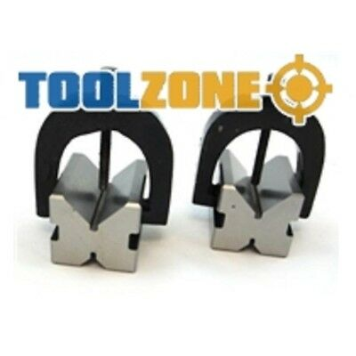 Toolzone V Block And Clamp Set