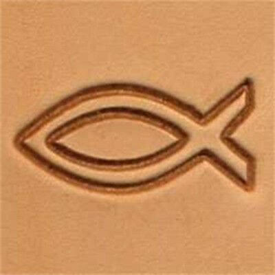 Fish 2d Leather Stamping Tool By Tandy Leather - Craf 3d Stamp 8851200