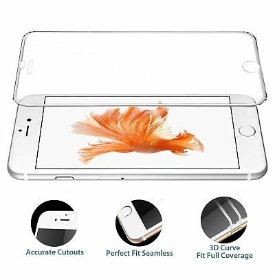Premium Real Screen Protector Tempered Glass Film For iPhone X 7 Plus 8 Plus HH