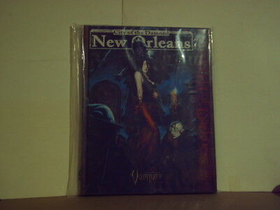 City of Damned * New Orleans - Sourcebook for VAMPIRE - 144 S. HC  WW25200 /2005