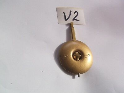 Pendulum From An Old  Mantel Clock  Ref V2