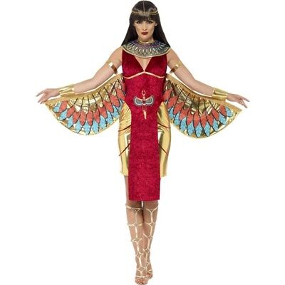 Cleopatra Costume Egyptian Queen Greek Goddess Fancy Dress Ladies Womens 14-16