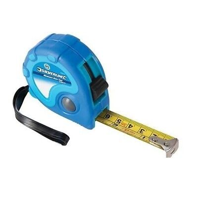 Silverline Measure Mate Tape 5m / 16ft x 19mm - 868770
