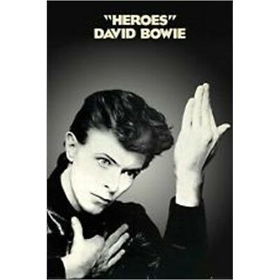 61 x 91.5cm David Bowie Heroes Maxi Poster - Album Cover 91cm Wall Decor Home