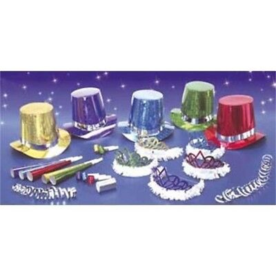 New Year Party Kit Multi 10 Person Accessory For Fancy Dress
