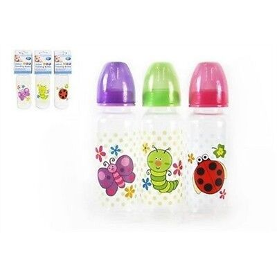 250ml First Steps Bpa Free Feeding Baby's Bottle - Baby Random Colour